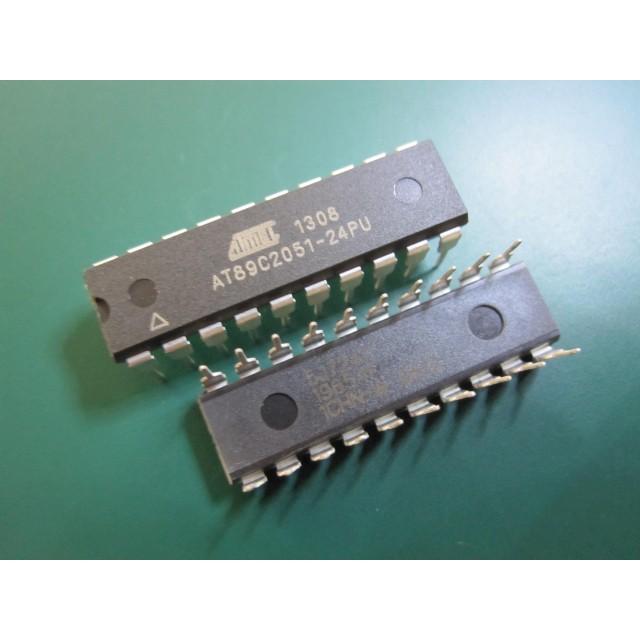 AT89C2051-24PU 89C2051 MICROCONTROLLER ATMEL DIP-20 | Shopee