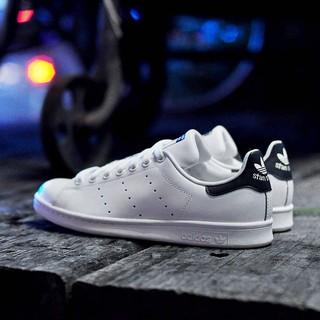 Adidas originali stan smith classico scarpe blu navy scheda (unisex.