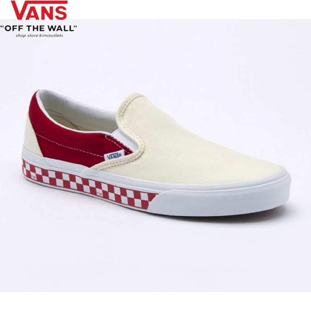 Ready Stock Hot Selling Vans Slip-On Casual Men's Women's Shoes Low Cut Couple C