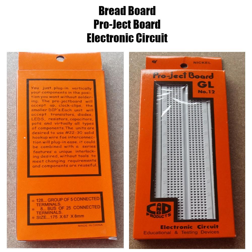 10pcs Diy Prototype Paper Pcb Universal Experiment Matrix Circuit Board 8 X 12 Cm For Electronic Project 5x7cm Shopee Philippines