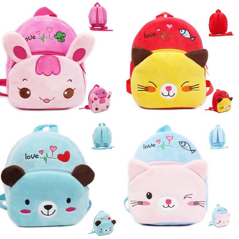 Baby Toddler Kids Child Mini Cartoon Animal Backpack Schoolbag Shoulder Bag bag!