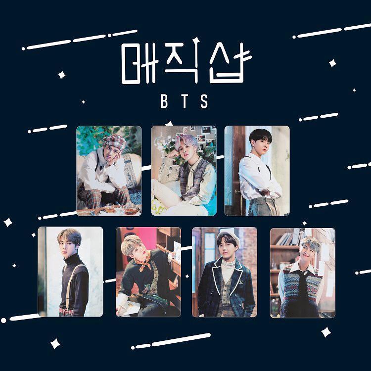 Kpop BTS 2019 5th Muster Polaroid Photocards Bangtan Boys