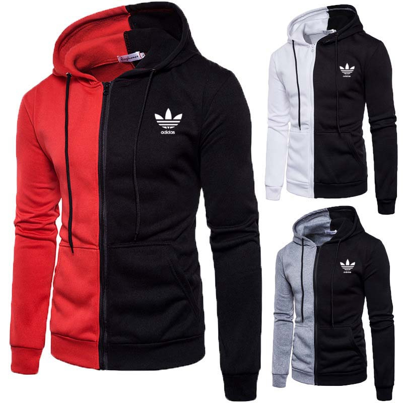 adidas hoodie jackets for men