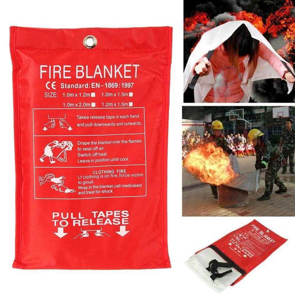 1 M X 1 M Fire Deken Emergency Survival Fire Blanket Emergency Fire Blanket  X0Y0 | Shopee Philippines