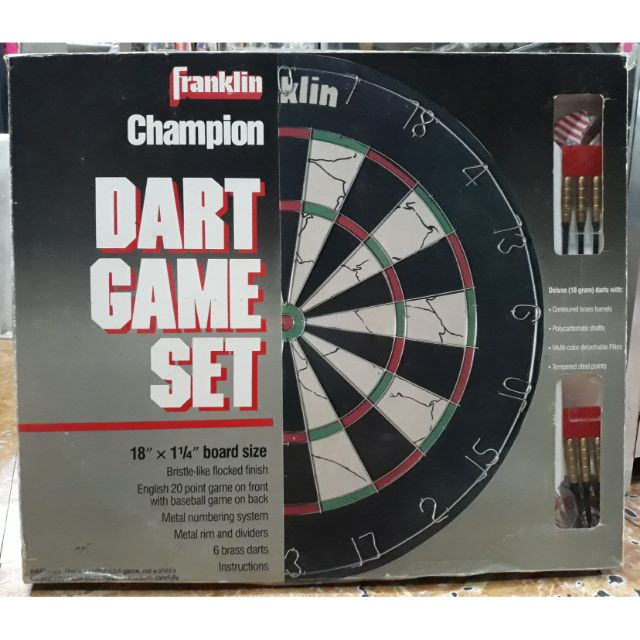 Franklin Champion Dart Board Game Set Shopee Philippines