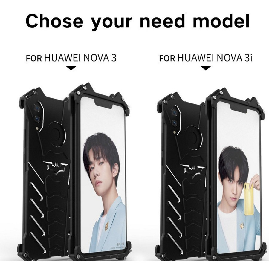 Huawei Nova 3i Batman Slim Aluminum Metal Shockproof Hard Phone Case Shopee Philippines