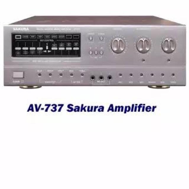 Sakura Integrated Amplifier AV-737