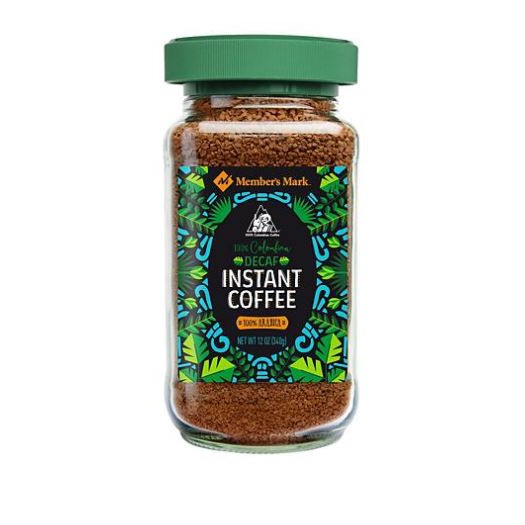 Members Mark Colombian Decaffeinated Instant Coffee 12 Oz