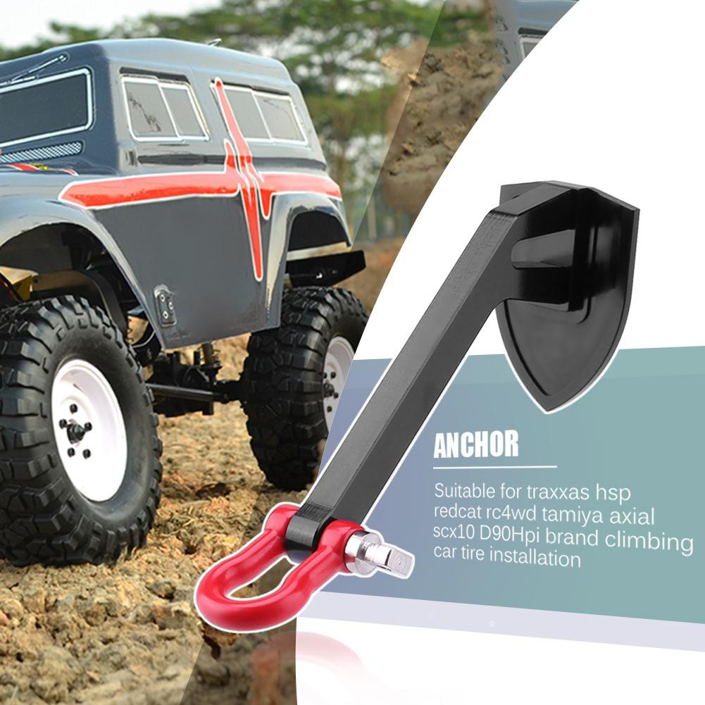 Metal Tow Shackle Hook Receiver Hitch Trailer for Axial SCX10 D90 RC Car OLB | Shopee Philippines