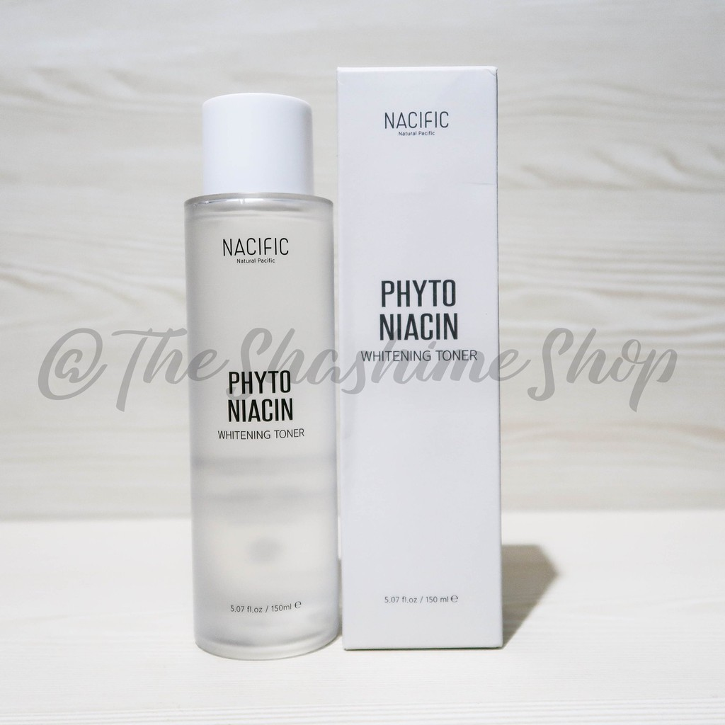 NACIFIC (NATURAL PACIFIC) Phyto Niacin Whitening Toner 150ml | Shopee Philippines