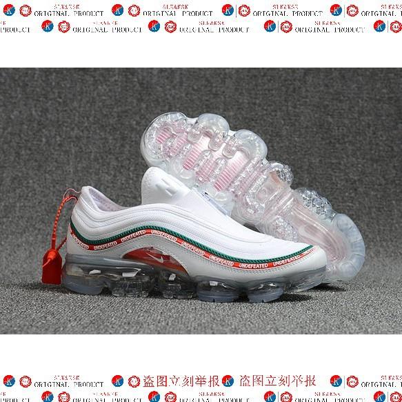 reputable site 6612f 8576f 2018 Air Max x Nike Air VaporMax x Air Max 97 Mens White Red Green