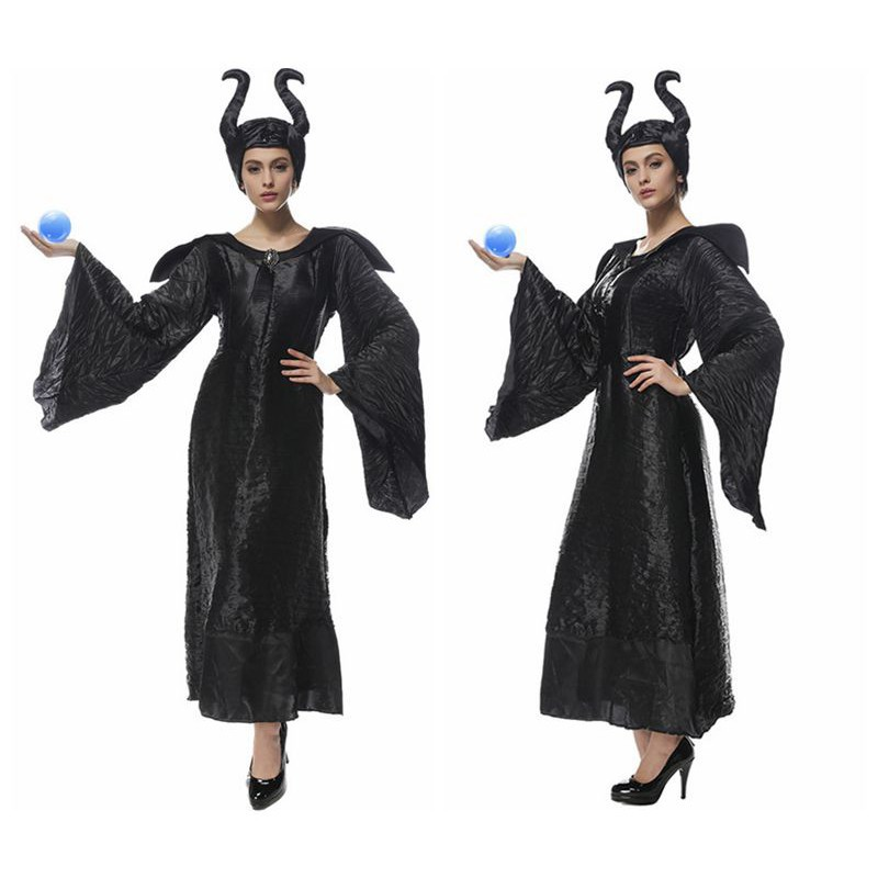 Maleficent Cosplay Costumes Adlut Sexy Halloween Costumes