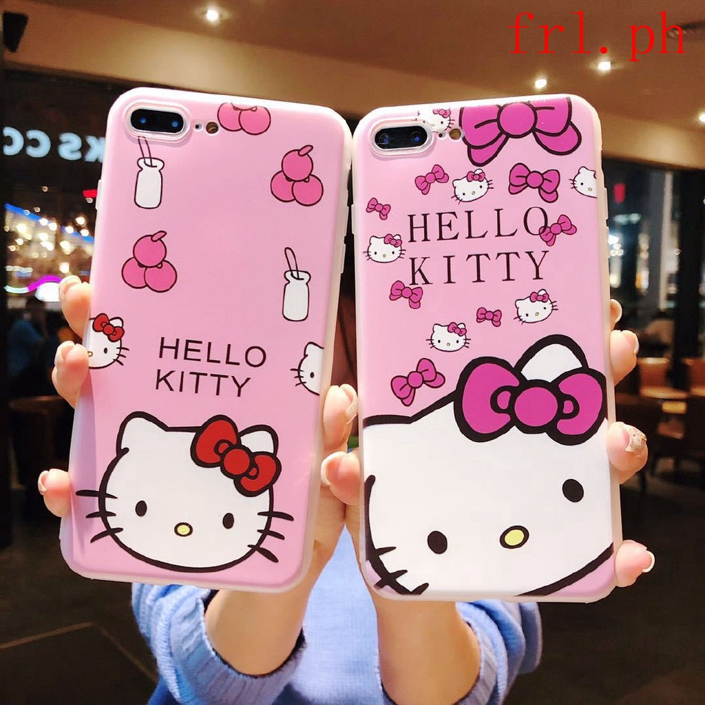 Hello Kitty Cat Cartoon Case For Oppo A3s F5 F1s A57 A39 A83