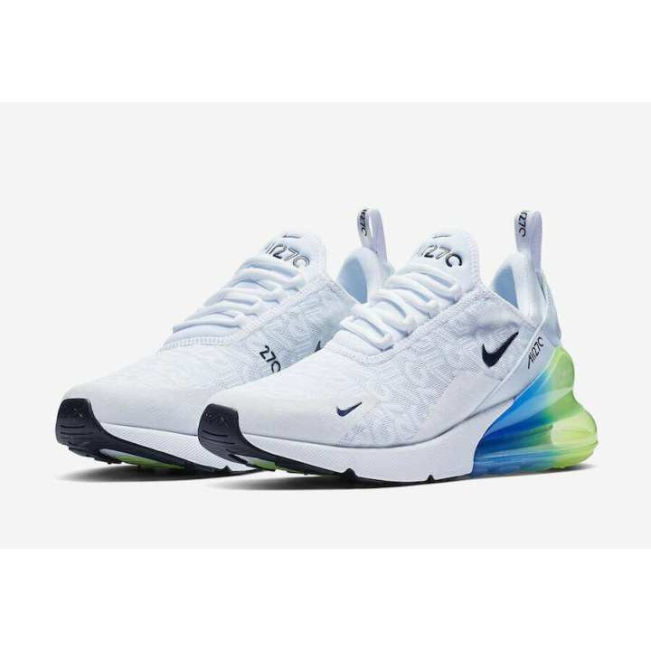 cheapest best authentic official shop Ready Stock Nike Air Max 270 SE White Multi AQ9164-100 Men Running Shoes  100%AUTHENTIC DS