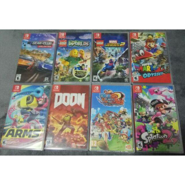 Brand New Nintendo Switch Games