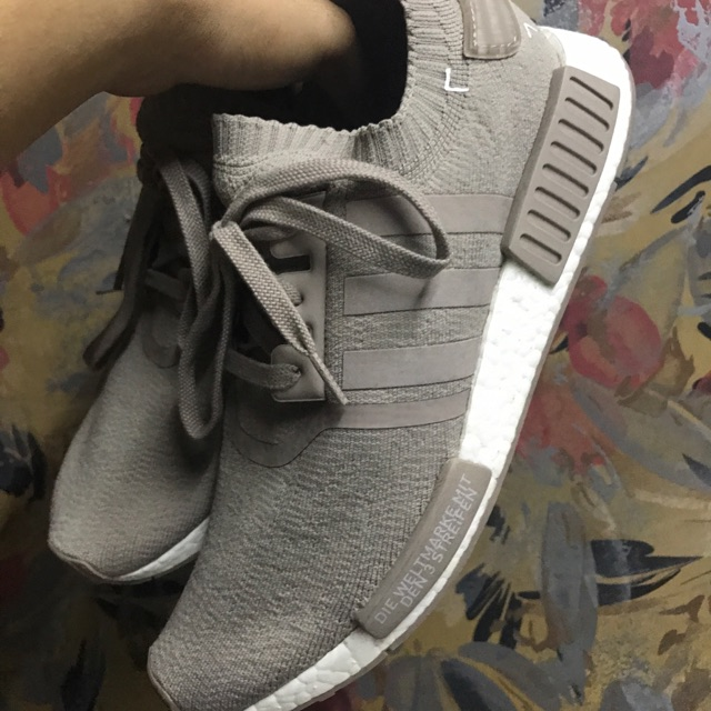 detailed look 4dafc d37e1 Adidas French Beige NMD PK