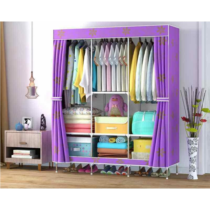 sports shoes 219a6 131a4 88130 BIG Multifunction Cloth Wardrobe Storage Cabinets