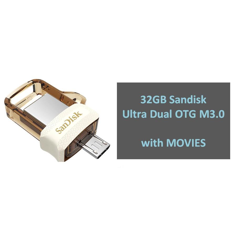 32gb Sandisk Ultra Dual Drive M30 Otg Sddd3 032g Shopee Philippines