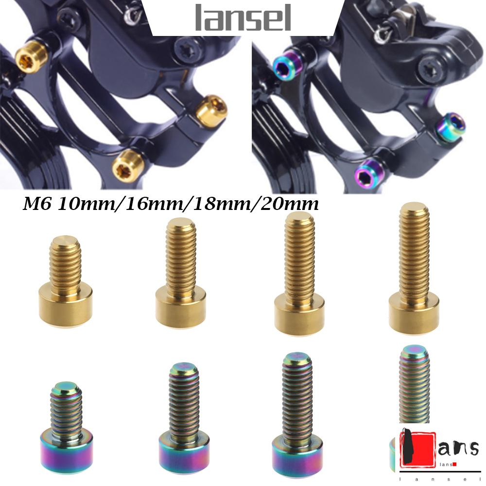 MTB Cycling M6 Fixed Bolt Bike Parts Bicycle Stems Screws Stem Fixing Bolts