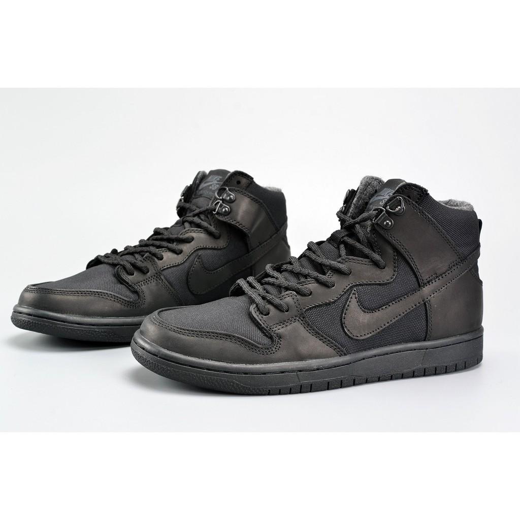 new style c873c 053a9 SLK ☆ Nike SB Zoom Dunk High Pro Bota Black/Black-Anthracite | Shopee  Philippines