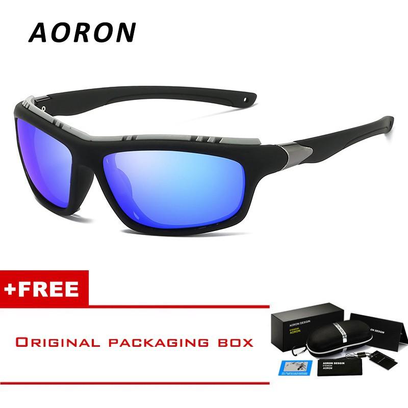 93910c496c AORON Men s Outdoor Sports Polarized Sunglasses Riding Glass ...