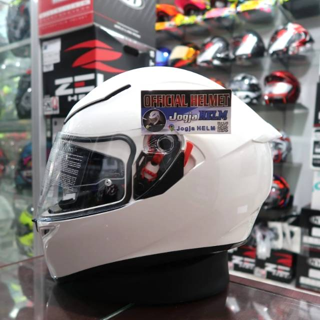 Agv K3 Sv Solid White Shopee Philippines
