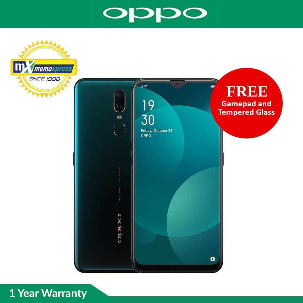 Oppo F11 4GB RAM | 64GB ROM with Free Gamepad and Tempered Glass