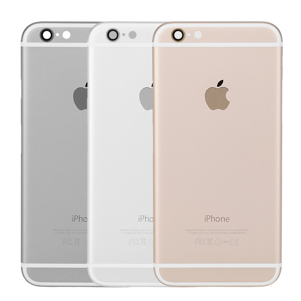 wholesale dealer e4996 ac37f iPhone 6 Rear for Housing Replacement iPhone Cover Back