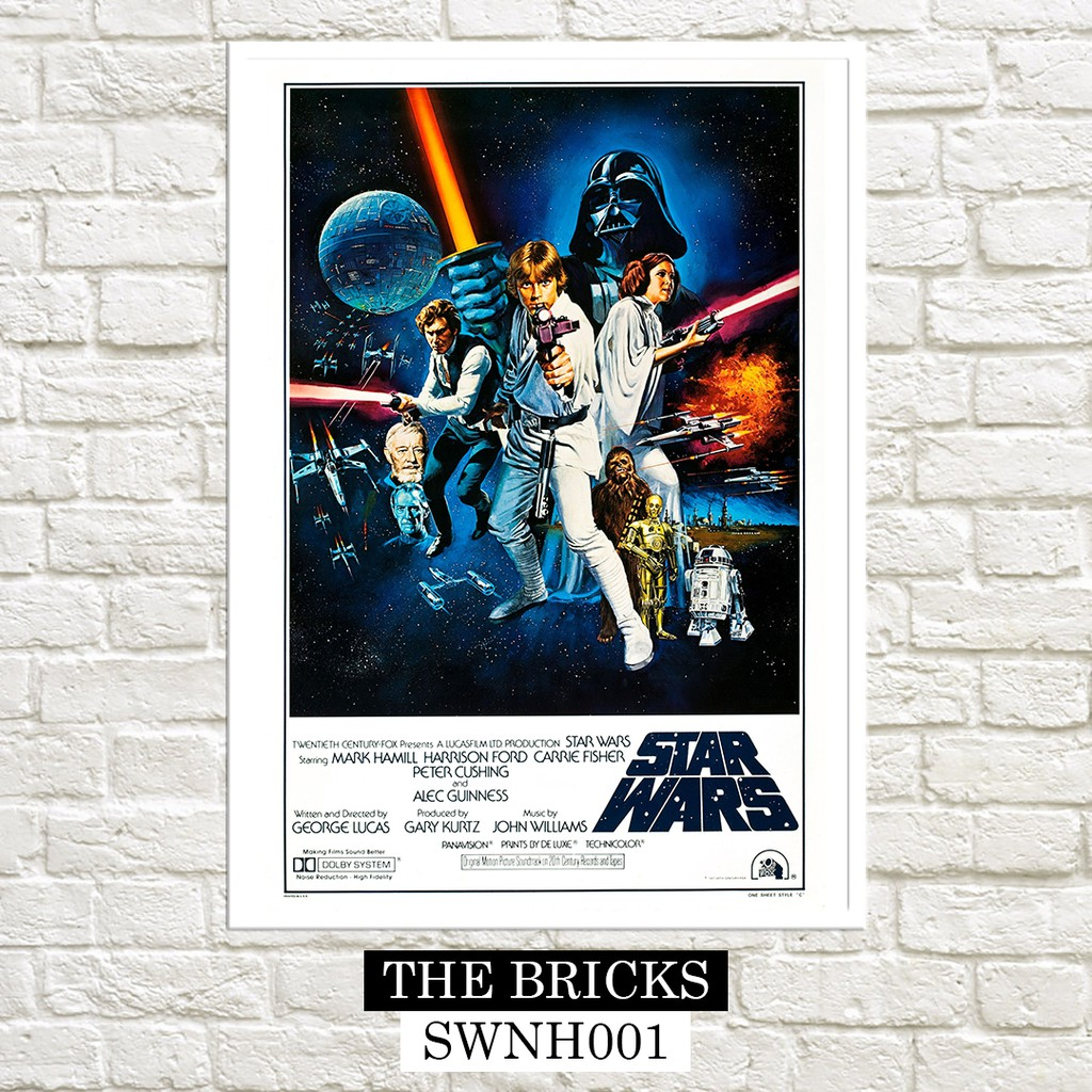 Star Wars Episode Iv A New Hope 1977 Posters Shopee Philippines