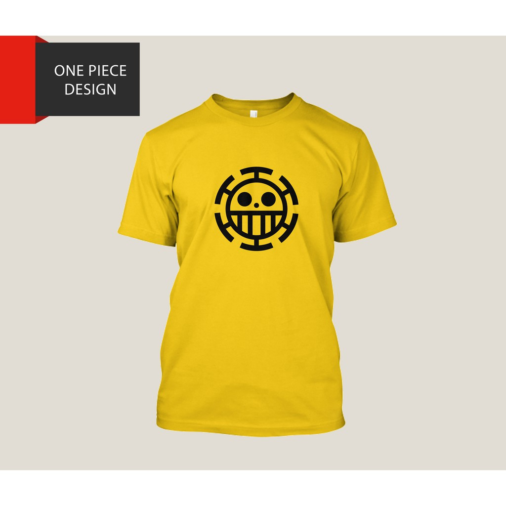 abeafb39e One Piece Trafalgar Law T-Shirt Design Print | Shopee Philippines