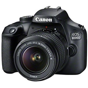 Canon Eos 4000d Dslr Camera With 18 55 Iii Lens Shopee Philippines