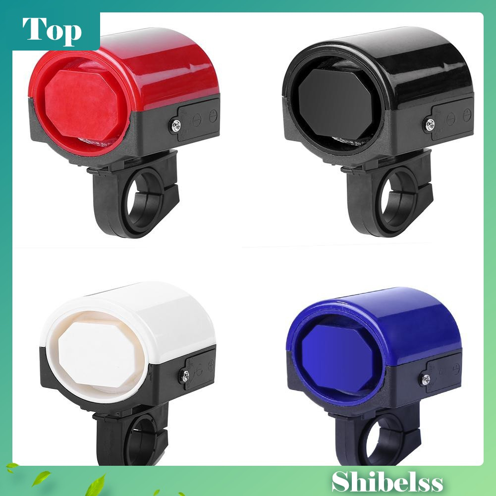 MTB Road Bicycle Bike Electronic Bell Loud Horn Cycling Hooter Siren Holder LJ