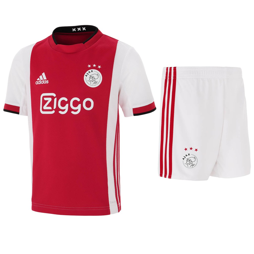 Top quality201920 Ajax home kids football soccer kit jersey