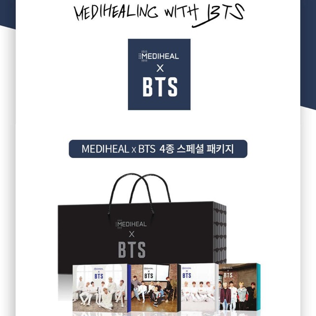 Mediheal x bts limited edition box   Shopee Philippines cef28d49f451