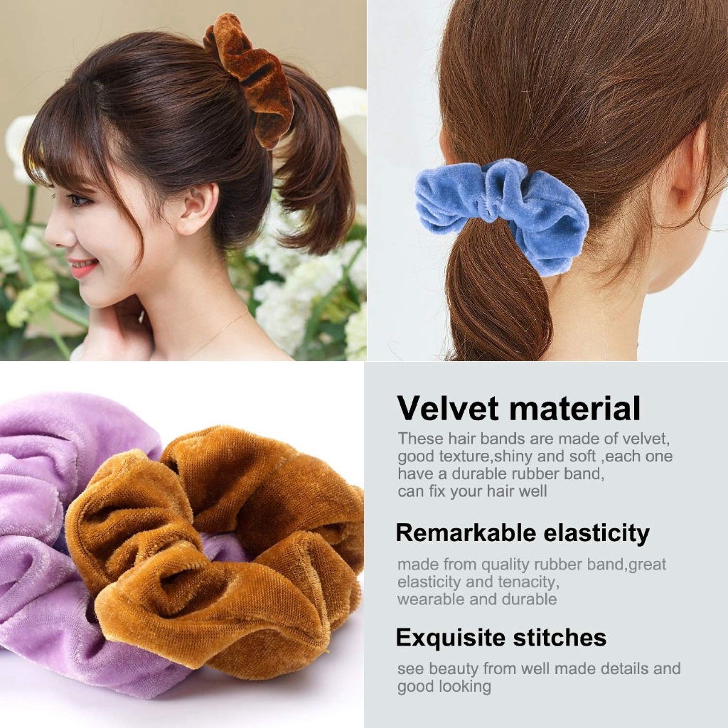 Silicone Foldable Hair Tie Fashion Elastic Hairs Ties Ponytail Holder Rope Tool