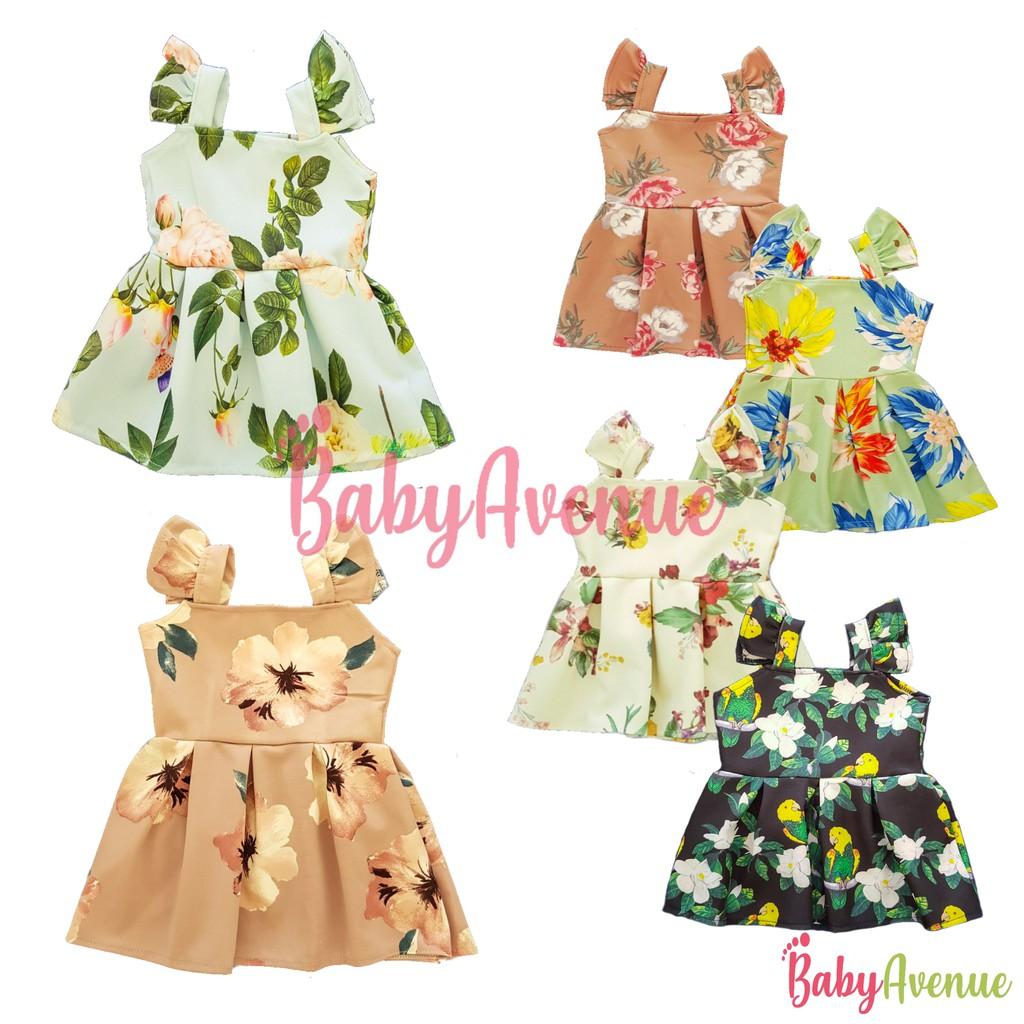 4c69e0b12eead 99 Only! OOTD Ruffle Baby Kids Dress 6m-4y/o