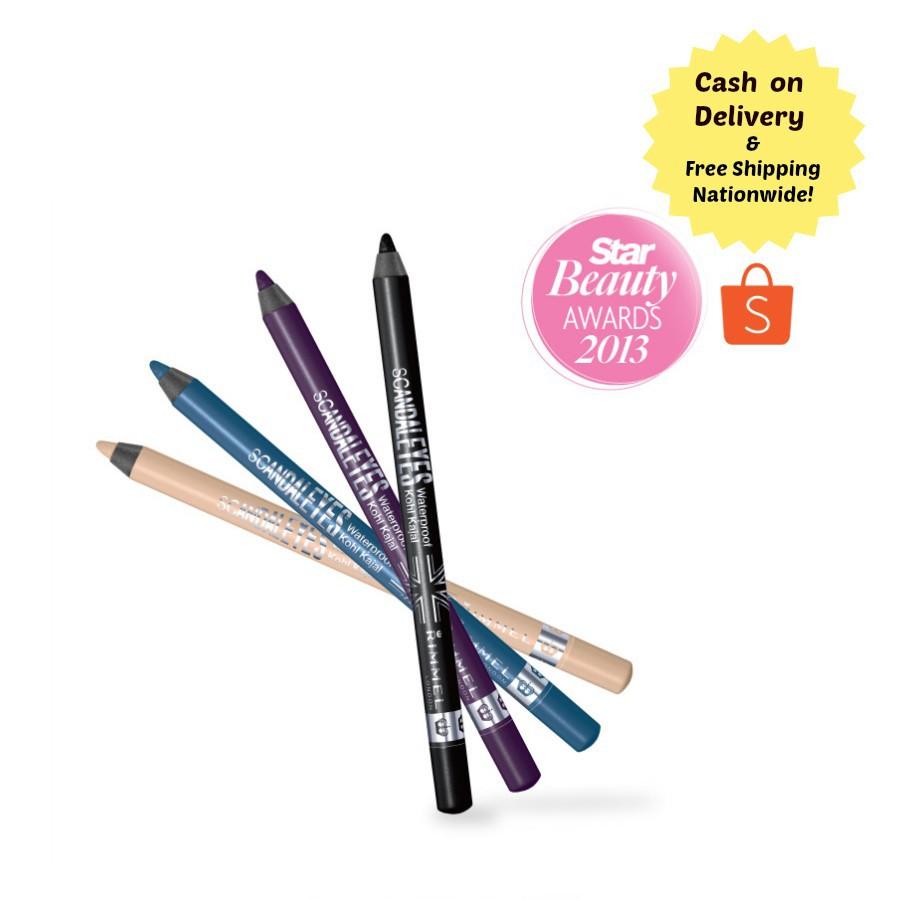 9fb67af0bf9 Rimmel Scandaleyes Waterproof Kohl Kajal pencil | Shopee Philippines