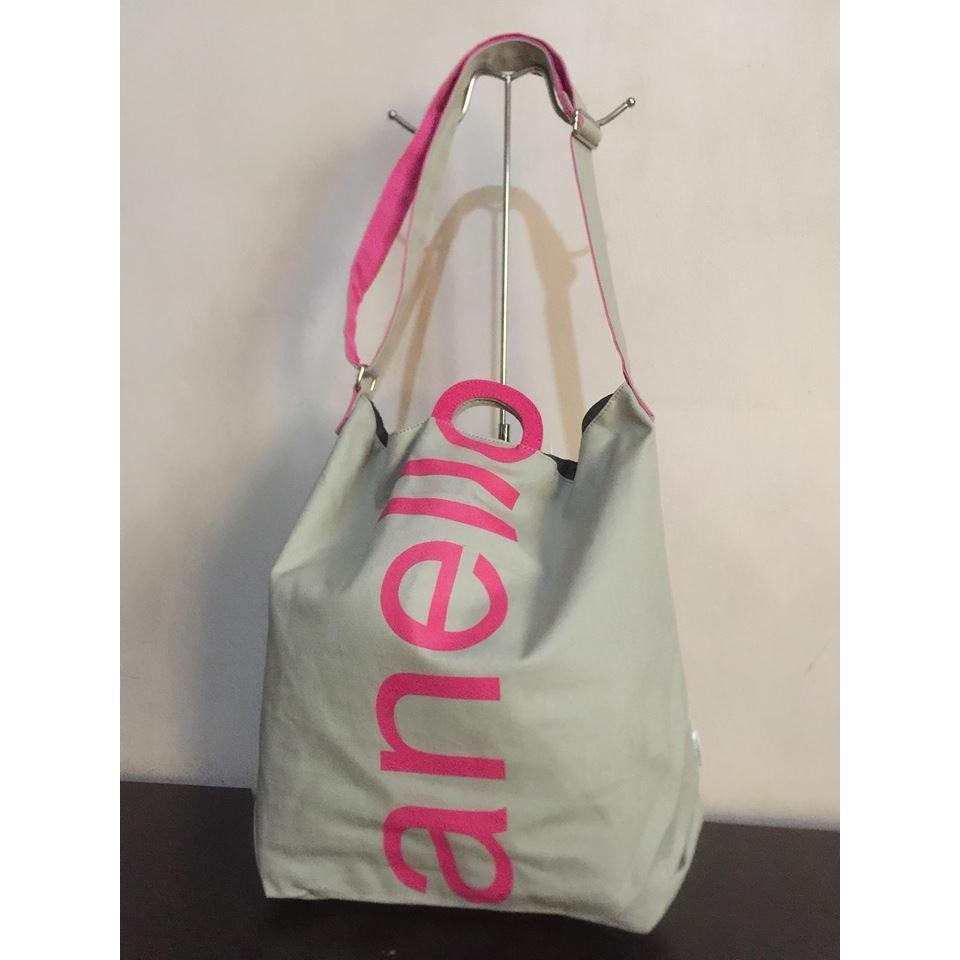 Authentic BURBERRY Haymarket Check Reversible Tote Bag  2ad2c25ce2cc6