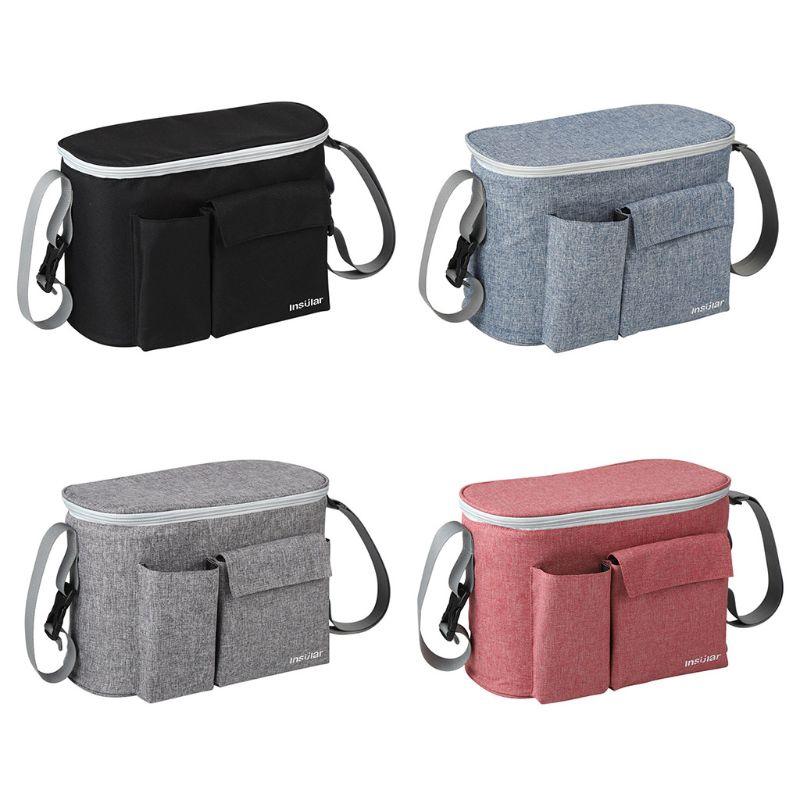 4Pcs Baby Stroller Accessories Pram Hanger Strap Pushchair Bottle Bag Hooks Clip Tool