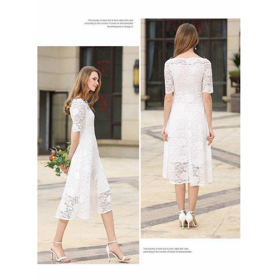 Elegant Casual Dress | Shopee Philippines