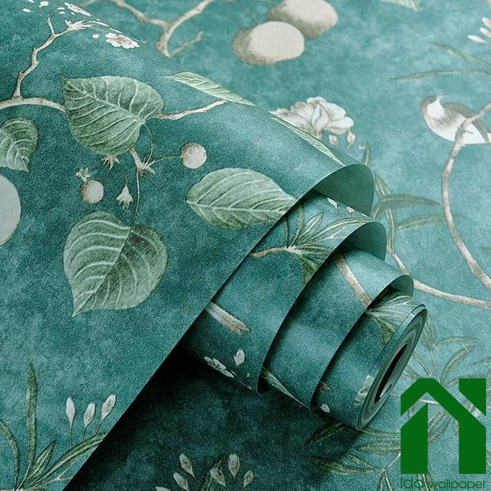 IDA Wallpaper 10M*45CM PVC Self Adhesive Forest Design ...