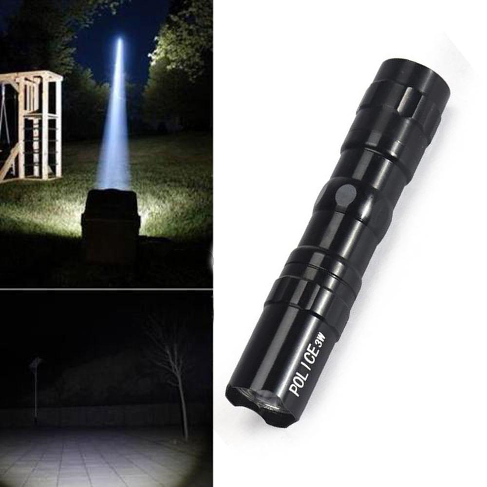 Mini Waterproof Outdoor Tactical LED Flashlight Bulb Lamp Torch Light