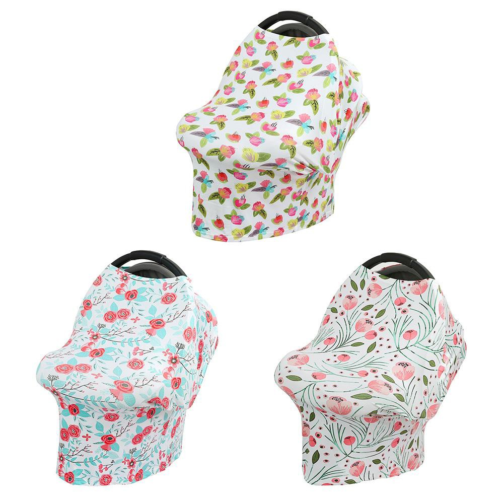 Mother & Kids Beautiful Multifunctional Feathers Baby Infant Breathable Cotton Carriage Shade Breastfeeding Nursing Cloth Cover Strollers Accessories