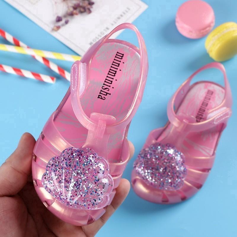 b7447dbdcb9f COD 2018 mini melissa Retro jelly sandals for kids