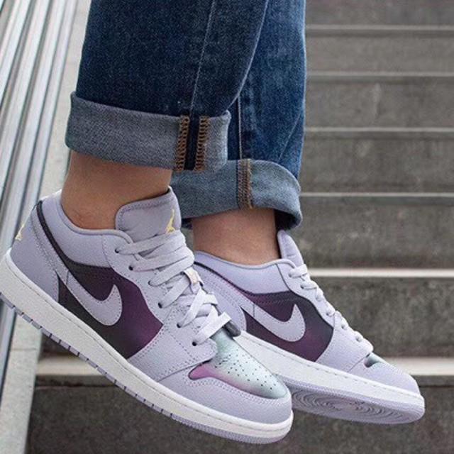 Ready Stock Nike Original Air Jordan AJ1 Low Tops Board Sports Shoes Sneakers For Women