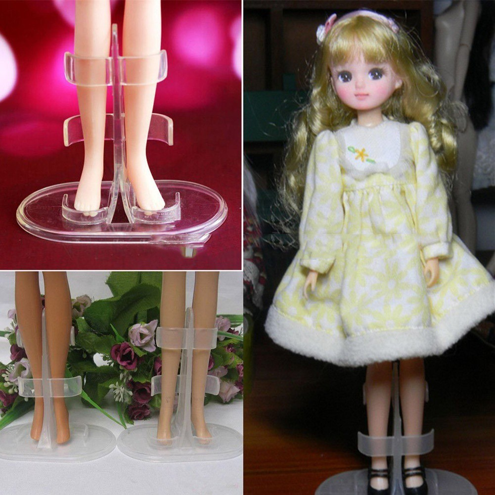 5PCS Doll Toy Stand Display Support Prop Up Mannequin Model Holder KIUS