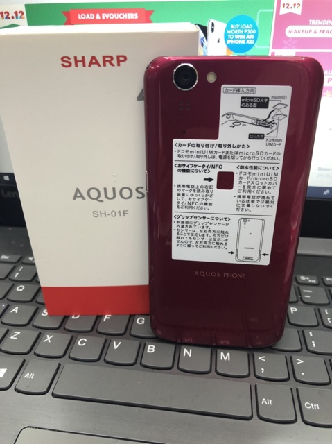 Smart Mobile Aquos Sh-01F Japan phone Original   Shopee