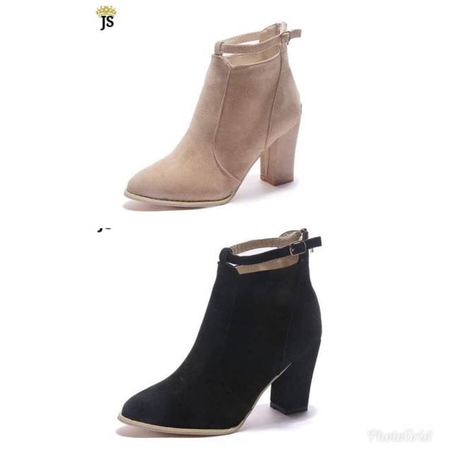98519a253a94 Korean Ladies High Heels Ankle Boots Shoes (CN size)