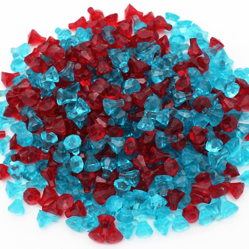 Lego Choose Color /& Quantity Rock 1x1 Jewel 24 Facet 30153