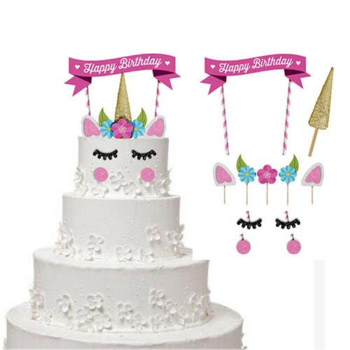 Diy Happy Birthday Banner For Cake